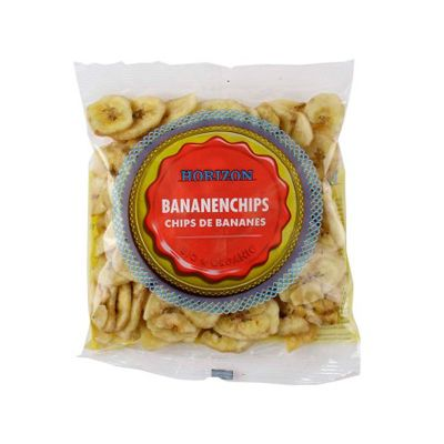 Banana chips van Horizon, 10 x 125 g