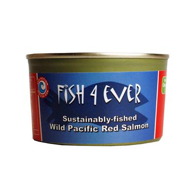 Wilde rode Pacific zalm van Fish4Ever, 12x213gr