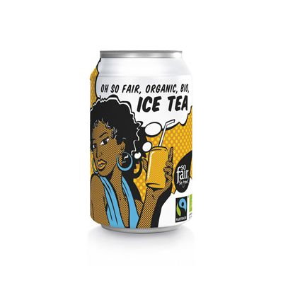 Ice Tea van Oxfam Fairtrade, 24x 330 ml