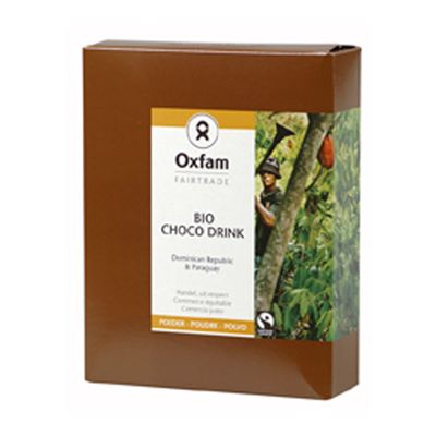 Choco-Drinkpoeder van Oxfam Fairtrade, 12x 375 gr