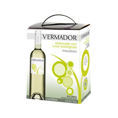 Vermador Macabeo Wit bag-in-box DO van La Bodega de Pinoso, 3 lt
