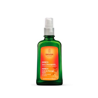 Massageolie arnica van Weleda, 1x 100ml