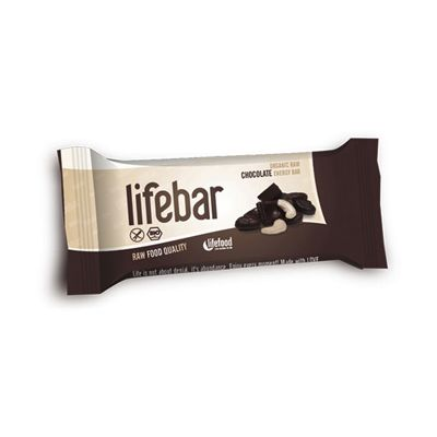 Lifebar Chocolade van Lifefood (Lifebar chocolate), Raw Food, 15