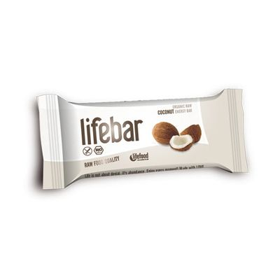 Lifebar Kokos van Lifefood (Lifebar coconut), Raw Food, 15x 47gr