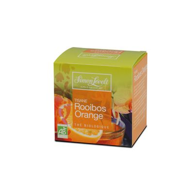 Rooibos Orange 1 Kops thee van Simon Lévelt, 6x 10 blt