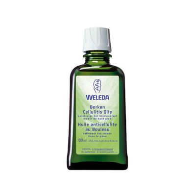 Berken cellulitusolie van Weleda, 1x 100ml