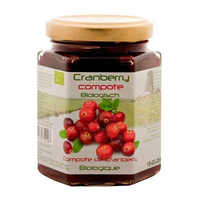 Cranberry-compote, 6x200gr Dutch
