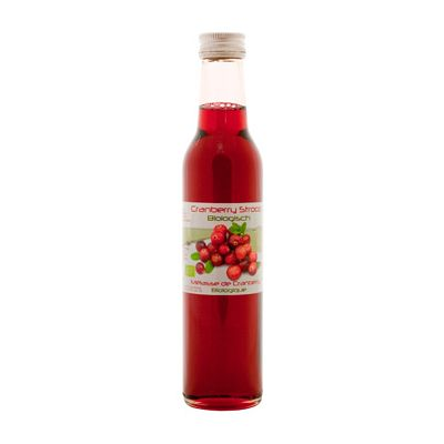Cranberry stroop, 6x250 ml Dutch Cranberry Group