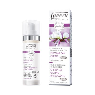 Firming day cream anti-wrinkle van Lavera, 30 ml.