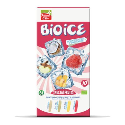 Bio ice special fruits waterijs van La Finestra sul Cielo, 20 x