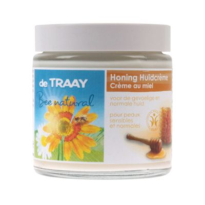 Honinghuidcrème van de Traay Bee Natural, 6x 100 ml