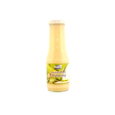 Mosterd-saladedressing van Bionova, 6 x 290 ml