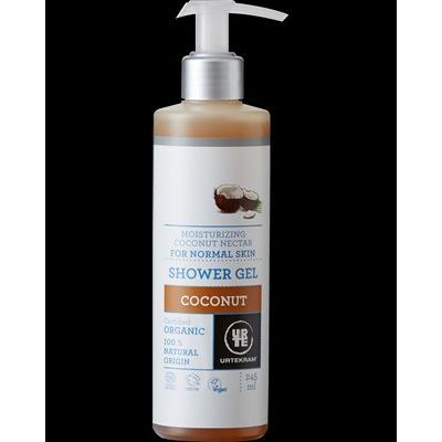 Coconut shower gel van Urtekram, 1 x 500 ml