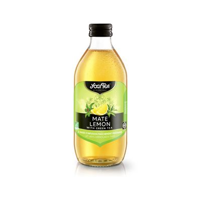 Cold tea mate lemon van Yogi Tea, 10 x 330 ml