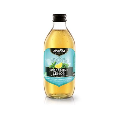 Cold tea spearmint lemon van Yogi Tea, 10 x 330 ml