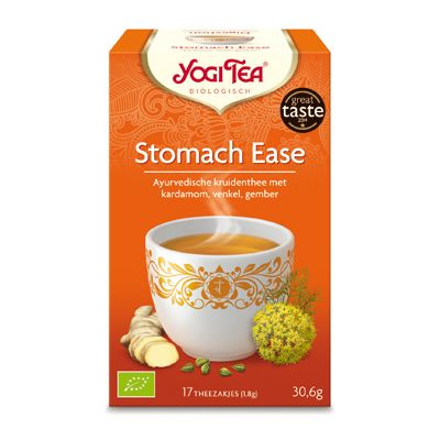 Stomach Ease Tea van Yogi Tea, 6x 17 blt