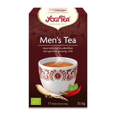Men's Tea van Yogi Tea, 6x 17 blt