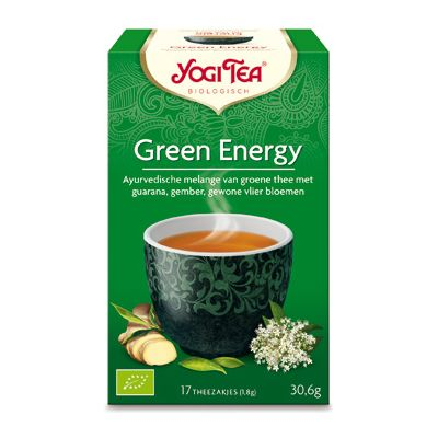 Green Energy van Yogi Tea, 6x 17 blt