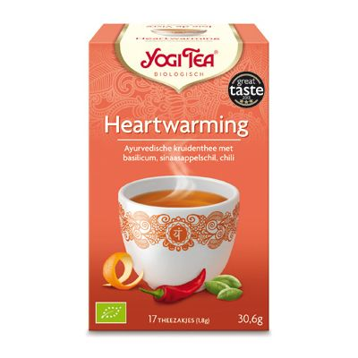 Heart Warming Tea van Yogi Tea, 6x 17 blt