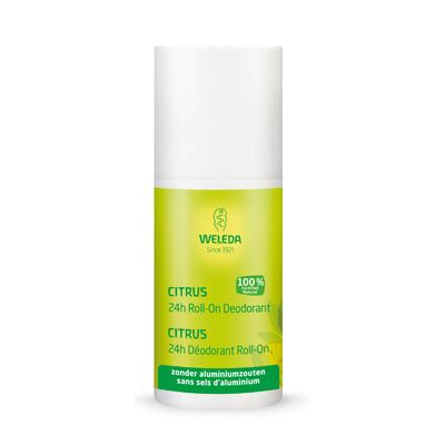 Citrus 24h deo roll on van Weleda, 1 x 50 ml