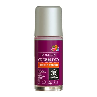 Nordic berries deo cream van Urtekram, 1x 50 ml