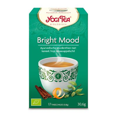 Bright Mood Tea van Yogi Tea, 6x 17 blt