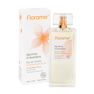 Eau de toilette irrestible citrus van Florame, 1x 100 ml.