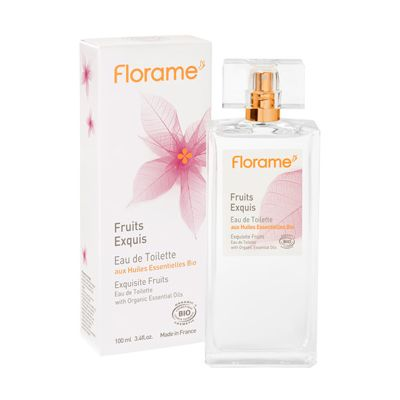 Eau de toilette exquisite fruits van Florame, 1x 100 ml.