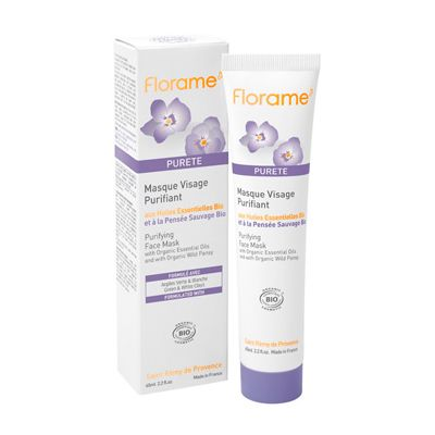 Purifying mask van Florame, 1 x 65 ml