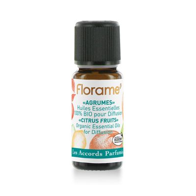 Citrus fruits composition van Florame, 1 x 10 ml