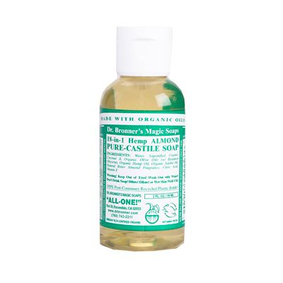 Liquid soap almond van dr.Bronners, 1x 59ml