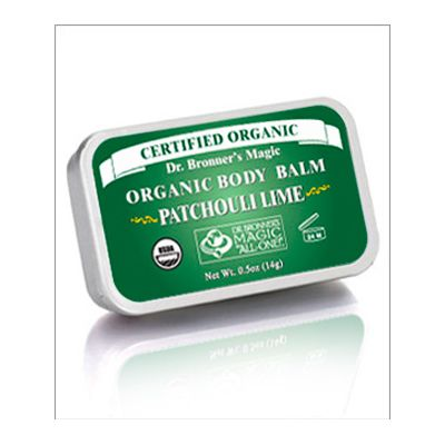 Body balm patchouli lime van dr.Bronners, 1x 14 gram