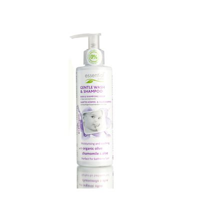 Baby gentle wash & shampoo van Odylique, 1x 200 ml