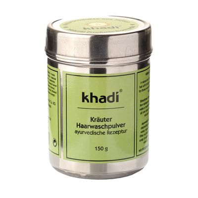 Herbal hairwash powder van Khadi, 1x 150 g