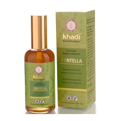 Face & body oil centella van Khadi, 1x 100 ml