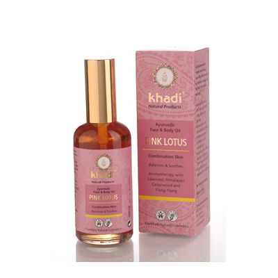Face & body oil pink lotus, 1x 100 ml