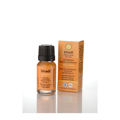 Mini face & body oil anti ageing van Khadi, 1x 10 ml