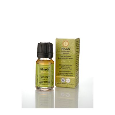 Mini face & body oil centella van Khadi, 1x 10 ml