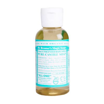 Liquid soap neutral mild van dr.Bronners, 1x 60ml