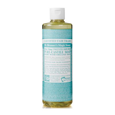 Liquid soap neutral mild van dr.Bronners, 1x 475ml