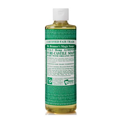 Liquid soap almond van dr.Bronners, 1x 475ml