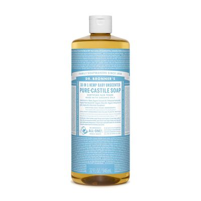 Liquid soap neutral mild van Dr.Bronners, 1 x 945 ml