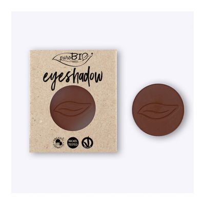 03 eyeshadow brown refill van PuroBIO, 1 x 1 stk