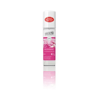 Deodorant spray wild rose van Lavera, 75 ml.