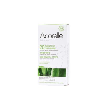 Hair removal strips for face van Acorelle, 1 x 10 stk