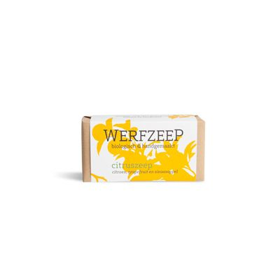 Citruszeep van Werfzeep, 1 x 100 g