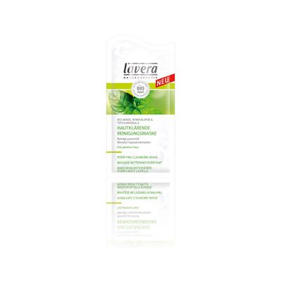 Purifying cleansing mask mint van Lavera, 15 x 10 ml