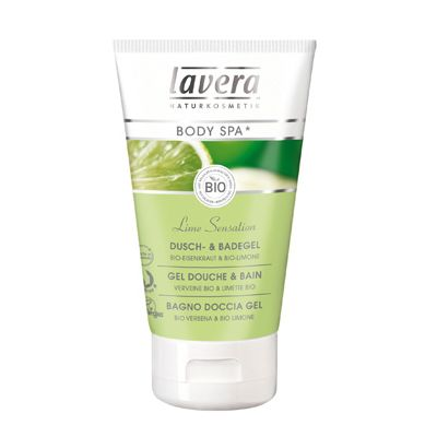 Douche- en Badgel Lime Sensation van Lavera, 150 ml