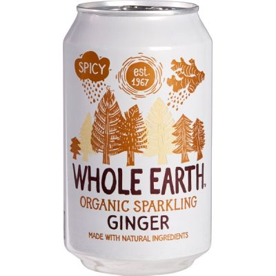 Sparkling ginger van Whole Earth, 24 x 330 ml