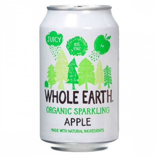 Sparkling apple van Whole Earth, 24 x 330 ml